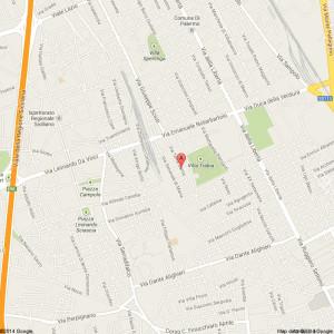 via terrasanta 60 palermo - Google Maps