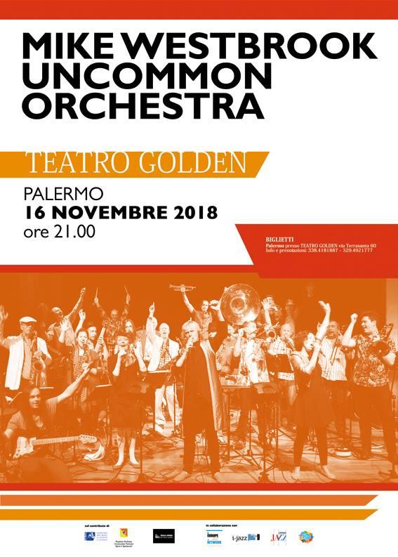 2357ea9e0c NOMOS JAZZ – Mike Westbrook The Uncommon Orchestra – 16 novembre 2018 – ore  21:00