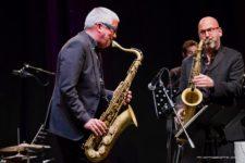 Andy Sheppard & Sicilian Jazz Mania Big Band in Suite Bump 5250 – 21 febbraio 2018 (Foto di Attilio Taranto)